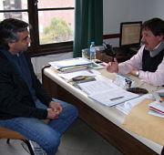 Esteban Mestre y el Esp. Lic. Ricardo Rambaudi