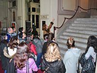 Alumnos de Diseño Equipacional visitaron el teatro «El Círculo»