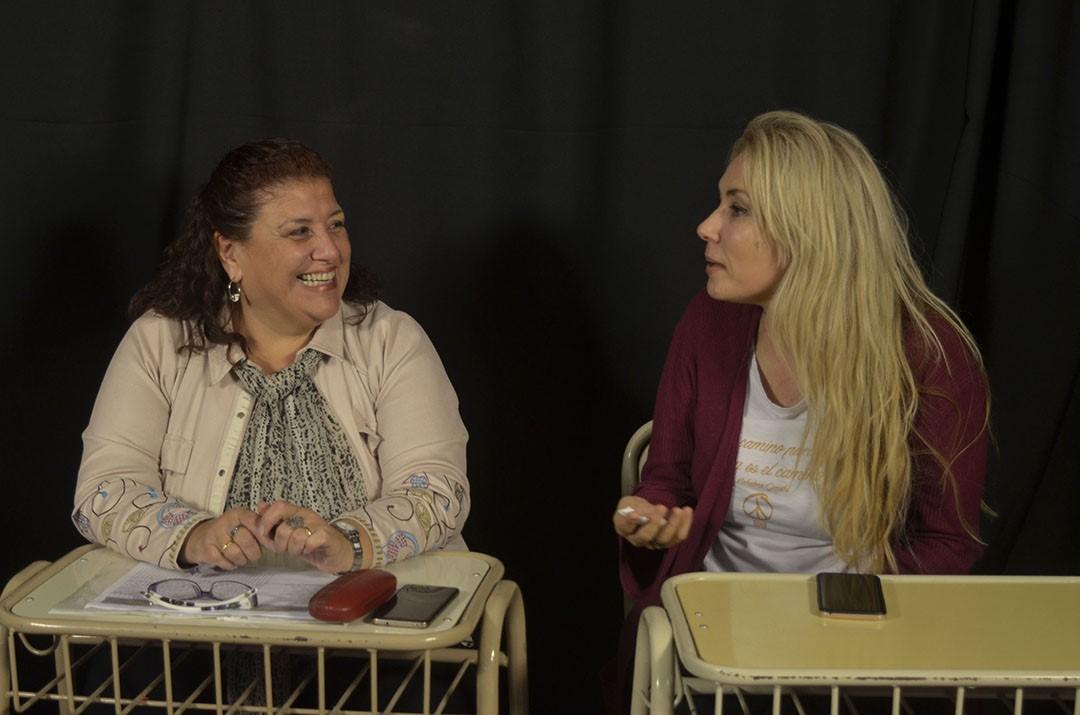 LA CONDUCTORA SUSANA MANZELLI VISITÓ EL ISET 18
