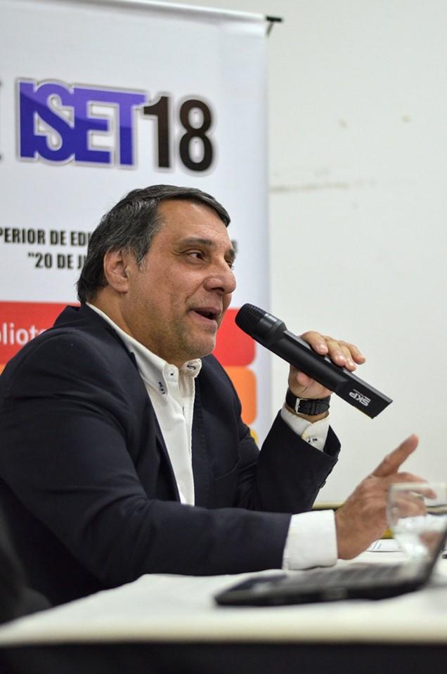Leo Ricciardino pasó por el ISET 18