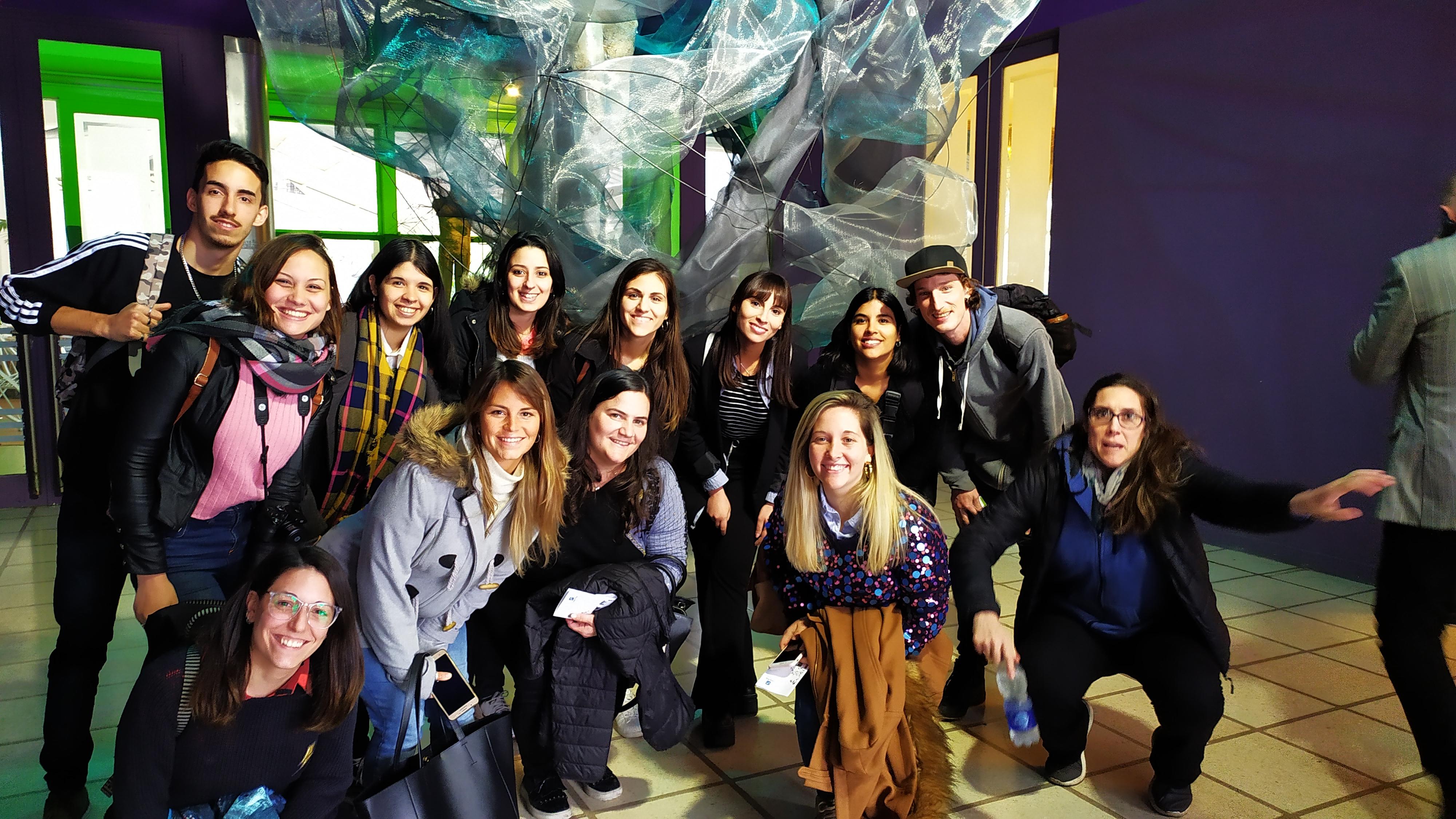 Alumnos de Diseño Equipacional asistieron a Casa FOA en Bs As