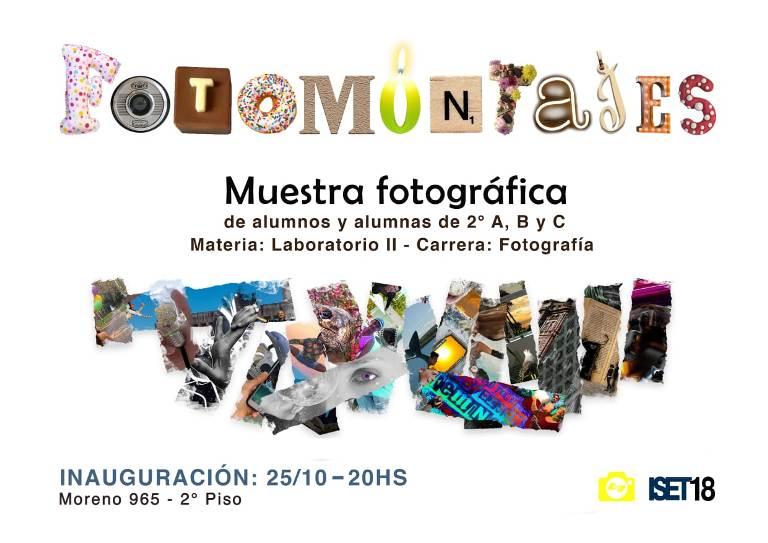 Inaugura la muestra Fotomontajes