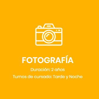 Fotografía Ingreso 2020 CUPOS COMPLETOS