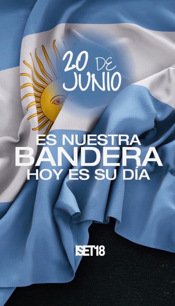 Hoy es el día de nuestra Bandera