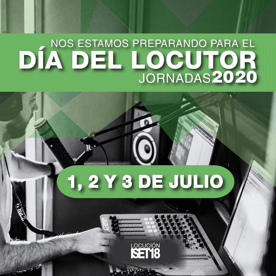 Día del Locutor. Jornadas 2020
