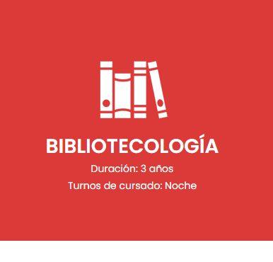 Convocatoria Bibliotecología
