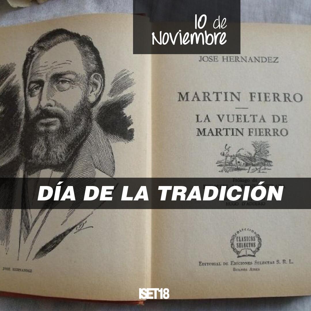 10 de Noviembre. Día de la Tradición