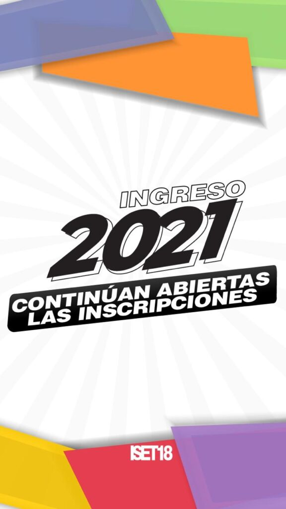 Inscripción a carreras 2021