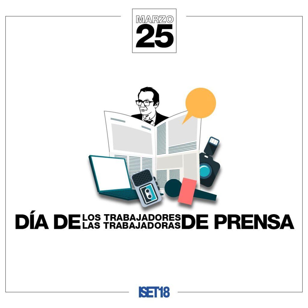 Hoy se conmemora el Día de los/las Trabajadores/as de Prensa
