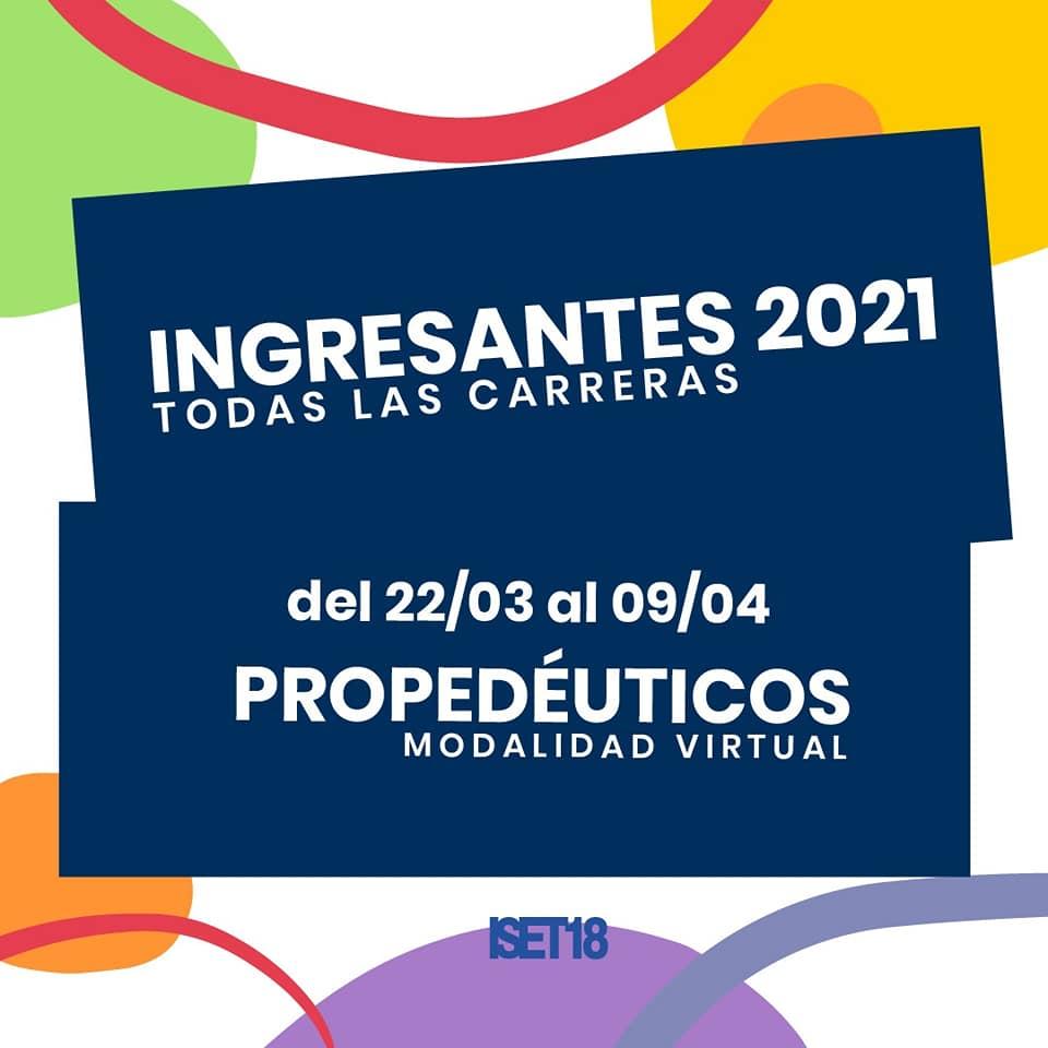 Propedéuticos 2021