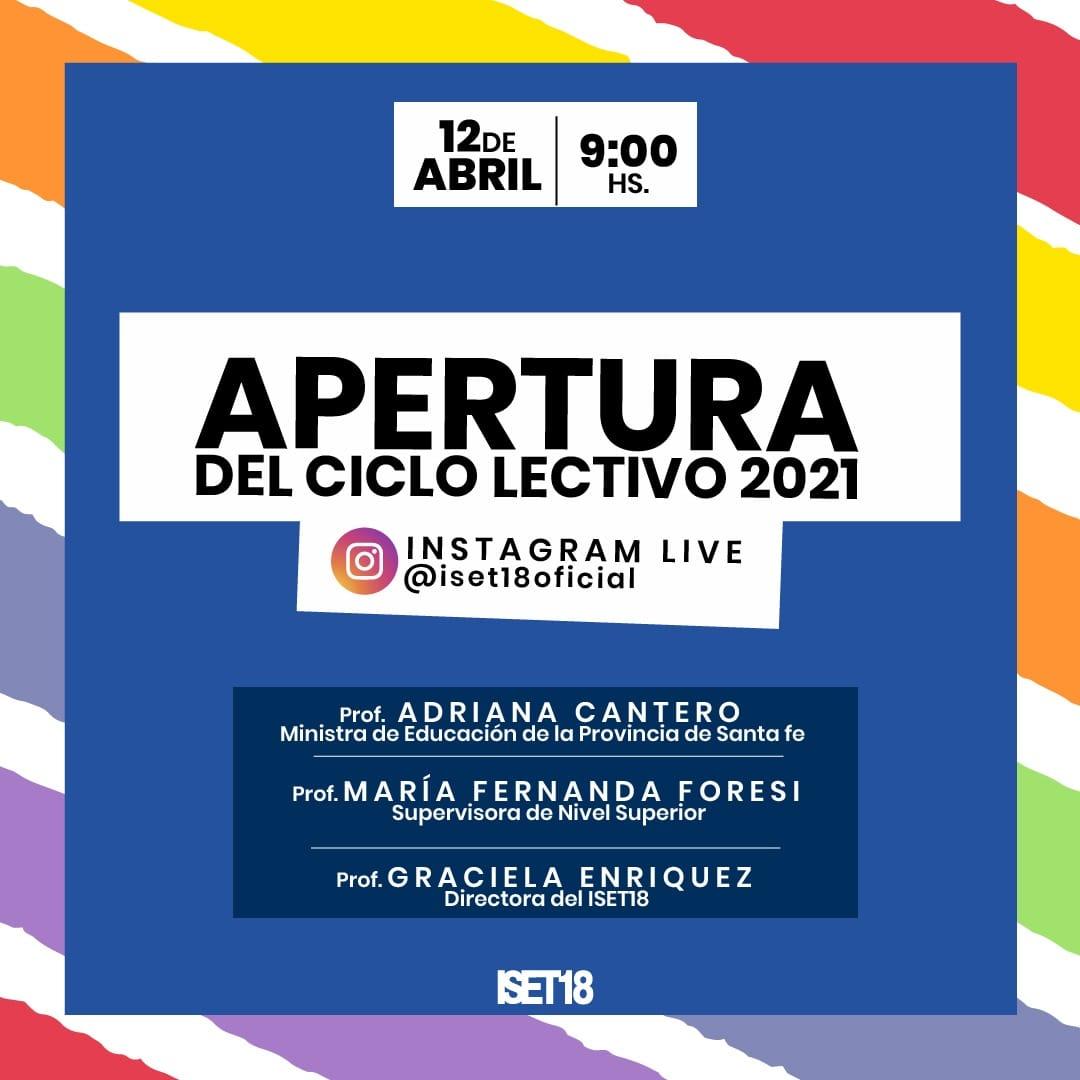 Apertura Ciclo Lectivo 2021